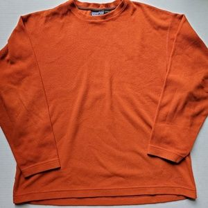 Patagonia Synchilla Orange Pullover Fleece USA L